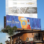 Blue Moon beer Summer 2013 billboard