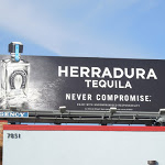 Herradura Tequila Never Compromise extension billboard