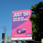 Just $50 Roku billboard
