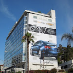 Giant Chevrolet Impala billboard