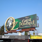 Disney Oz Great Powerful movie billboard