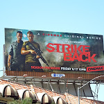 Strike Back season 2 TV billboard