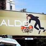 Aldo Shoes ceiling billboard F2 2012