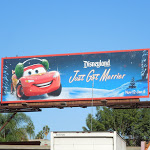 Disneyland Just Got Merrier Cars billboard