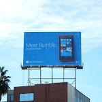 Meet Bumble lovable loner Windows Phone billboard