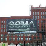 Coma TV remake billboard NYC