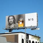 Brad Pitt Inevitable Chanel No5 billboard