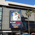 Bomb Girls season 1 billboard Hollywood Boulevard
