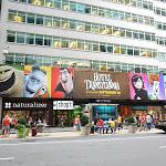 Hotel Transylvania movie billboard NYC