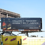 Smokier Johnnie Walker Double Black billboard