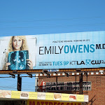 Emily Owens MD series premiere billboard