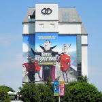 Giant Hotel Transylvania movie billboard