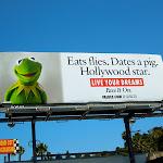 Kermit Live your dreams billboard