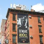 Total Recall teaser billboard NYC