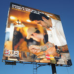 MasterCard Priceless chef rock star billboard