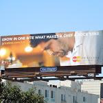 MasterCard Chef Ludo Lefebvre billboard