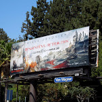 Resident Evil 5 movie billboard