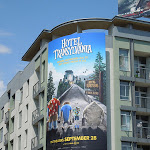 Hotel Transylvania billboard