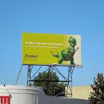 Toy Story Rex Disneyland billboard