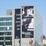 Giant Bourne Legacy movie billboard