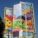 Oogieloves Big Balloon Adventure giant billboard