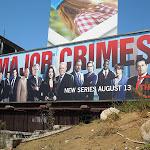 Major CrimesTV billboard