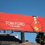 Tom Ford Women handbag billboard