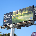 MasterCard Priceless golf billboard