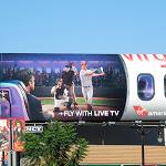 Fly live TV Virgin America billboard