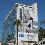 Giant Jennifer Aniston Smart Water billboard 2012