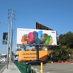 Rdio billboard Sunset Boulevard