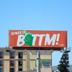 Power Up Bottom condom billboard