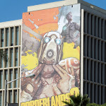 Borderlands 2 game billboard