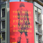 Evil Dead terrifying film you ever experience billboard