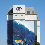 Giant Chasing Mavericks billboard