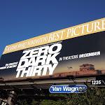 Zero Dark Thirty Oscar billboard