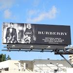 Burberry umbrella FW 2012 billboard