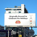Stella Artois beer Holidays billboard
