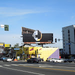 Daft Punk Random Access Memories billboard Sunset Strip