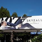 Daniel Craig Skyfall 007 billboard
