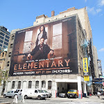 Giant Elementary CBS billboard NYC