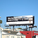 Ahead of its time Porsche 911 Carrera billboard