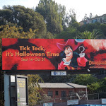 Captain Hook Disneyland Halloween 2012 billboard