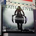Darksiders 2 Death Lives game billboard
