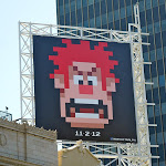 Wreck It Ralph teaser movie billboard