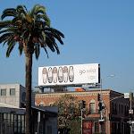 UGG Go Wild slipper billboard