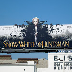 Snow White Huntsman Queen billboard