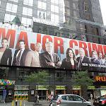 Major Crimes season 1 billboard NYC