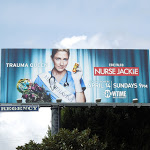 Nurse Jackie Trauma Queen season 5 billboard