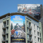 Hotel Transylvania movie billboard Sunset Vine